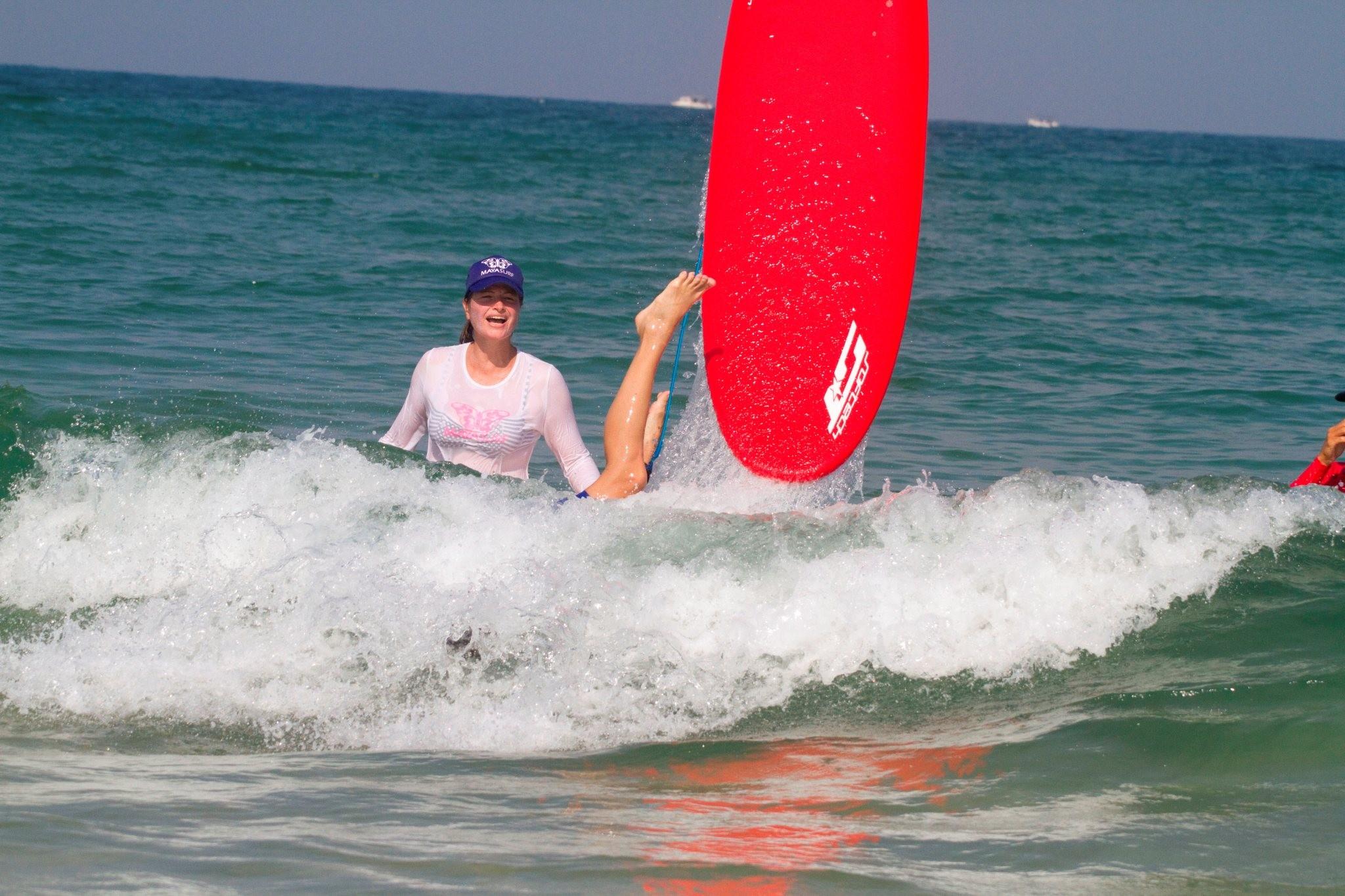 קורס גלישת גלים נשים