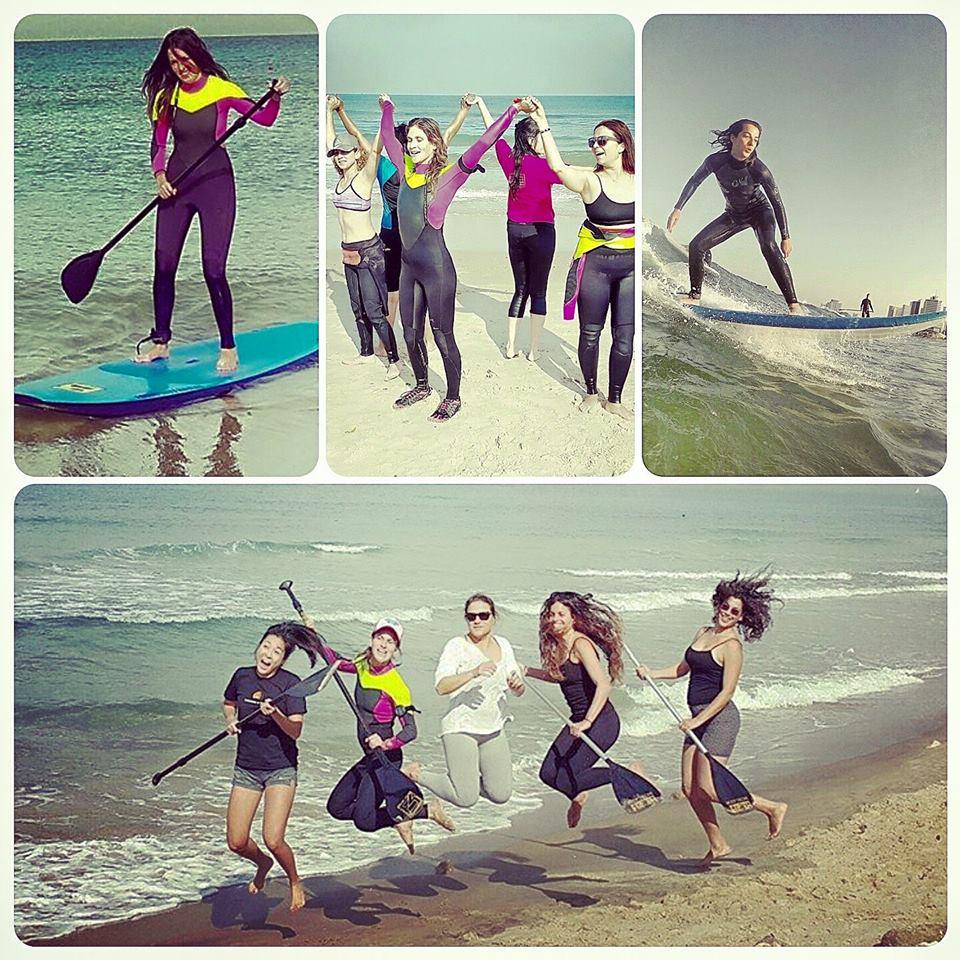סאפ לנשים בתל אביב