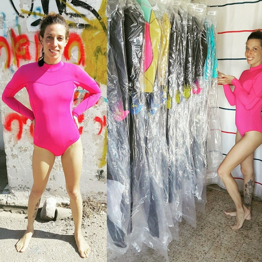 עונת מעבר חליפת גלישה לנשים